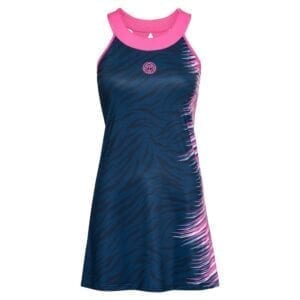 BIDI BADU Daria Tech Dress (2 In 1)-mørkeblå, pink