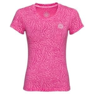 Anni Burnout Tech Tee - Pink