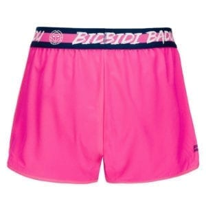 BIDI BADU Grey Tech 2 In 1 Short – pink, mørkeblå
