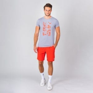 BIDI BADU Kaami Lifestyle Tee – Grå, Orange