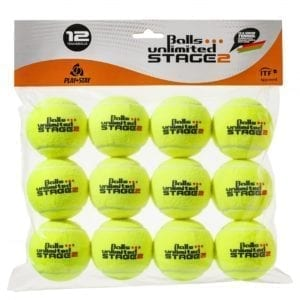 BALLS UNLIMITED Balls Unlimited Niveau 2 (orange) – turneringsbold 12 stk. boldpose