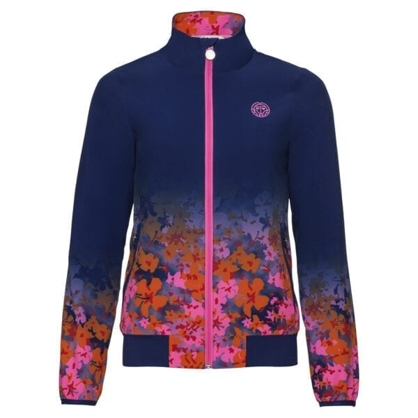 BIDI BADU Gene Tech Jacket – darkblue/pink/flame